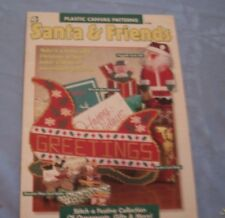 House of White Birches Plastic Canvas Patterns SANTA  & fRIENDS 181027