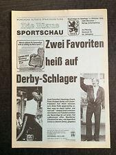 Ligue de bavière 86/87 1860 Munich - SpVgg Belleville, 11.10.1986