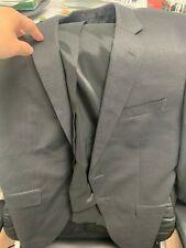 HUGO BOSS Slim-fit suit in vl stretch  42s jacket only damage coat