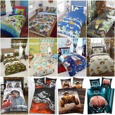 Set di lenzuola e copripiumini per bambini, dei dinosauri