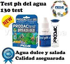 ACUARIO TEST PH PRODAC analisis agua