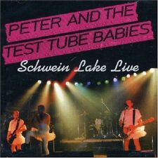 Peter & The Test Tube Babies Schwein Lake Live CD NEW SEALED Punk Run Like Hell+