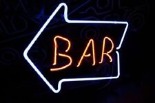 "New Bar Arrow Live Nudes Game Room Beer Pub Neon Sign 17""x14"""