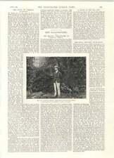 1894 Hh Johnston British Commissioner Central Africa Us Cruiser Chicago