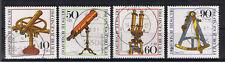GERMANIA 4 FRANCOBOLLI PRO GIOVENTU STRUMENTI OTTICI 1981 usato
