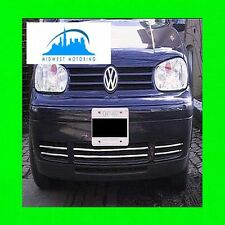99-05 VW VOLKSWAGEN GTI GOLF CABRIO CHROME LOWER GRILLE TRIM 00 01 02 03 04 2003