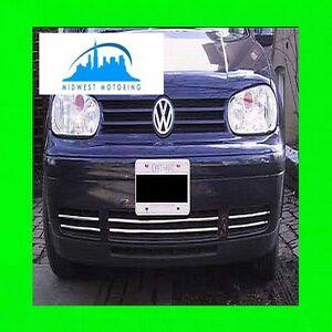 99-05 VW VOLKSWAGEN GTI GOLF CABRIO CHROME LOWER GRILLE TRIM 00 01 02 03 04 2003