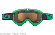 BRAND NEW Dragon Alliance DX GREEN JET LENS Snowboard Ski Goggle BONUS LENS