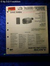 Sony Service Manual CCD TR3000 / TR3000E (#3535)