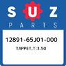 12891-65J01-000 Suzuki Tappet,t:3.50 1289165J01000, New Genuine OEM Part