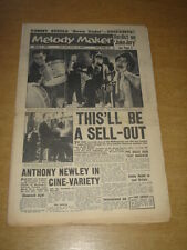 MELODY MAKER 1960 MARCH 5 JAZZ AT THE PHILHARMONIC TOMMY STEELE JUKE BOX JURY +