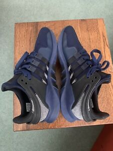 Mens Adidas EQT Equipment Trainers Size 9 Blue Deadstock BB6228 Running