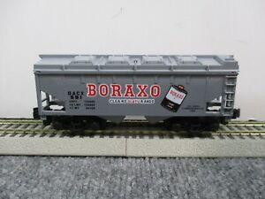 American Flyer #48475 1991 NASG Boraxo Box Car NEW