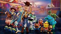 Toy Story 4 CANVAS WALL ART PICTURE 20X30 INCHES