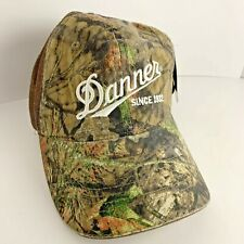 Mossy Oak Danner Boots NWT Camo Truckers Baseball Hat/Cap One Size Fits Most