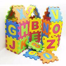 3D Playmat Soft Alphabet Number Sponge EVA Foam Learning Development Child