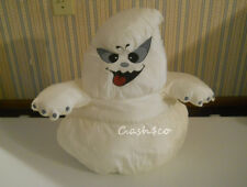 "Large soft Ghost nylon Puffalump Style 18"" Halloween 1992 Anco Excellent      S2"