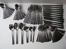 72 Lot Set Rogers Co Stainless Korea Silverware Flatware Place Settings Serving