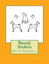 Basenji Stickers : Do It Yourself by Gail Forsyth (2016, Paperback)