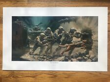 """Into the Breach"" Ranger Print (Public edition) by Stuart Brown"