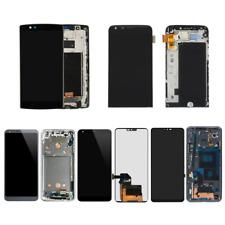 LG G7 ThinQ G710 G6 H870 H871 G5 H820 VS986 LCD Display Touch Screen + Frame Lot