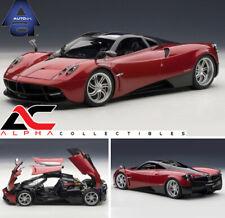 AUTOART 78268 1:18 PAGANI HUAYRA RED METALLIC SUPERCAR DIECAST CAR