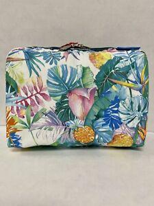 LeSportsac Hawaii Exclusive XL Rectangular Uluwehi Cosmetic Bag NWT
