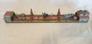 Marx Windup Main street Tin Toy, 1920's Litho Clockworks