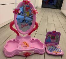 Barbie Table Top Vanity Unit & Barbie Oregon Laptop