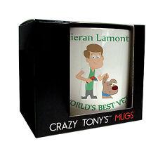 Mens Personalised Vet Gift, Male Vet Gifts, Vet Mug, Crazy Tony's, Vet Presents