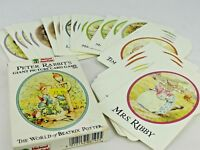 Peter Rabbit's Giant Picture Card Game. Vintage Tales of Beatrix Potter. 1988.