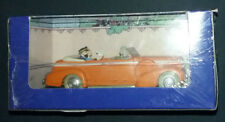 Tintin et Milou Cadillac Fleetwood Tintin au Tibet Hergé Le Taxi de New-Dehli