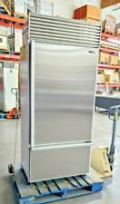 "Delay Shipping Sub-Zero 36"" Bottom-Freezer Refrigerator Flawless Stainless Doors"