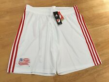 MLS OFFICIAL MERCH AUTHENTIC ADIDAS NEW ENGLAND REVOLUTION TRAINING SHORTS XL