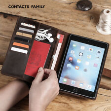 """Multi-function 7.9"""" Wallet Pen Slot Leather Stand Cover For Apple iPad Mini 4 5"""