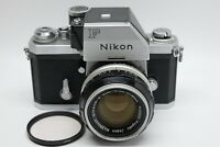 [EXC+++++ METER WORKS] NIKON F Photomic FTN w/ 50mm f/ 1.4 from Japan #1365