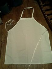 50 restaurant white bib kitchen chef catering aprons long ties