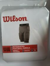 Wilson Wtf983101 multi sport football compression integrated pad girdle Youth