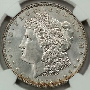 1903 Morgan Dollar, NGC MS65 CAC, Conservatively Graded Better Philadelphia Date