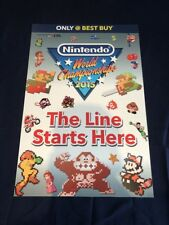 Ultra Rare Nintendo World Championships 2015 NWC Marquee 1 of 16 Collector