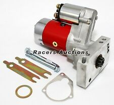 700HP Small & Big Block CHEVY GM HD Mini Starter Motor Red 3HP 305 350 454