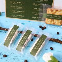 Liebe selbst Papier Etiketten Aufkleber Siegel Aufkleber für Geschenk Verpack  X
