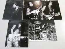 BANG TANGO UNPUBLISHED LIVE STAGE PHOTOGRAPHS 80's HARD ROCK AUTOGRAPHED RARE!