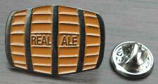 Beer Barrel Lapel Hat Tie Cap Pin Badge Real Ale Breweriana Gift Hen Stag Brooch