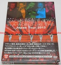 Backstreet Boys IN A WORLD LIKE THIS Japan Tour 2013 DVD Booklet Sticker GMBV-2