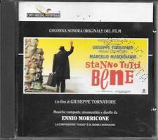 "ENNIO MORRICONE - RARO CD 1990 "" STANNO TUTTI BENE """