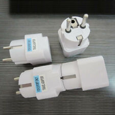 Travel Power Adapter Converter USA US UK AU travelling plug White Wall Plug Home