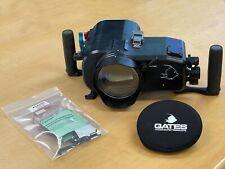GATES Underwater Housing + Port + Extras for Sony FDR-AX700 4K Camera
