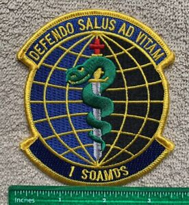 US Military Special Operations 1st SOAMDS Medicine Squadron Patch
