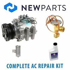 For Mazda Protege 1999-2000 1.8L AC A/C Repair Kit w/ OEM Compressor & Clutch